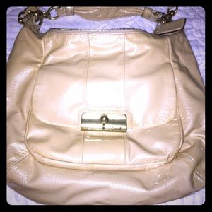 Authentic Coach Purse. Gently used. Nude Color